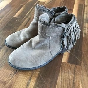 Girls size 3 Brown booties
